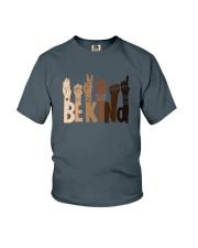 Be Kind Raise Hand Youth T-Shirt thumbnail