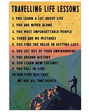 Camping Travelling Life Lesson 11x17 Poster front