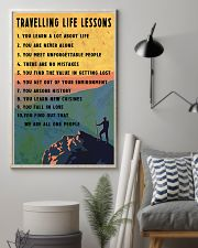 Camping Travelling Life Lesson 11x17 Poster lifestyle-poster-1
