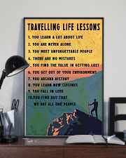 Camping Travelling Life Lesson 11x17 Poster lifestyle-poster-2