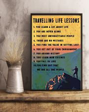 Camping Travelling Life Lesson 11x17 Poster lifestyle-poster-3