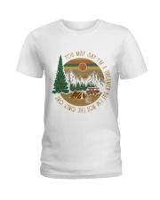 You may say I'm a dreamer but I'm not the only one Ladies T-Shirt front