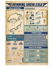 Swimming knowledge 11x17 Poster front