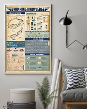 Swimming knowledge 11x17 Poster lifestyle-poster-1
