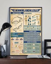 Swimming knowledge 11x17 Poster lifestyle-poster-2