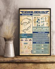 Swimming knowledge 11x17 Poster lifestyle-poster-3