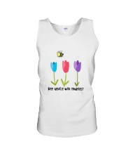 Bee gentle Unisex Tank tile