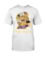 Maya Angelou you may write Classic T-Shirt thumbnail