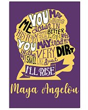 Maya Angelou you may write 11x17 Poster thumbnail