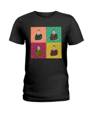 RBG pop art quote Ladies T-Shirt thumbnail