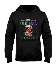 Disc golf Never old man Hooded Sweatshirt thumbnail