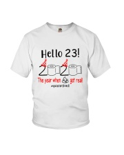23 Hello the year Youth T-Shirt thumbnail
