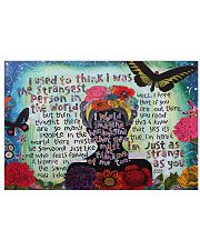 Frida Kahlo quote Horizontal Poster tile