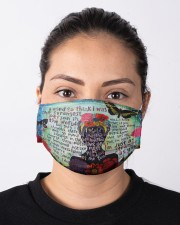 Frida Kahlo quote Cloth face mask aos-face-mask-lifestyle-01