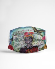 Frida Kahlo quote Cloth face mask aos-face-mask-lifestyle-22