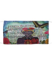 Frida Kahlo quote Cloth face mask front