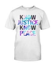 Know justice Classic T-Shirt thumbnail