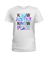 Know justice Ladies T-Shirt thumbnail