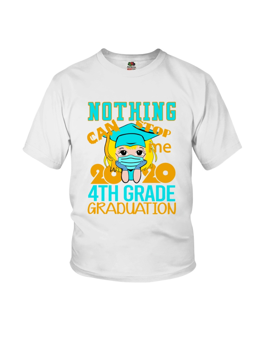 Blonde girl 4th grade Nothing Stop Youth T-Shirt