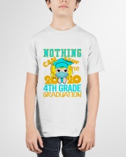 Blonde girl 4th grade Nothing Stop Youth T-Shirt garment-youth-tshirt-front-01