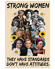 RBG strong women 11x17 Poster thumbnail