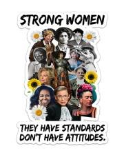RBG strong women Sticker - Single (Vertical) thumbnail