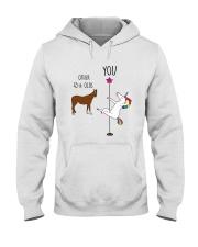 45 Unicorn other you  Hooded Sweatshirt thumbnail