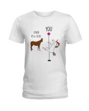 45 Unicorn other you  Ladies T-Shirt thumbnail