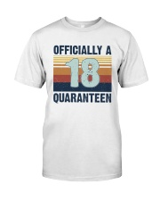 18 Officially Classic T-Shirt front