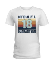18 Officially Ladies T-Shirt thumbnail