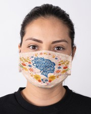 Empowered women Cloth face mask aos-face-mask-lifestyle-01