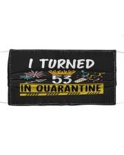 53 I turned in quarantine Cloth face mask thumbnail
