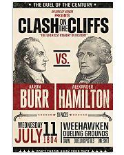 Burr Ham duel poster 11x17 Poster front