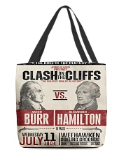 Burr Ham duel poster All-over Tote thumbnail