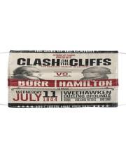 Burr Ham duel poster Cloth face mask thumbnail