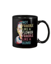 RBG not fragile sticker Mug thumbnail