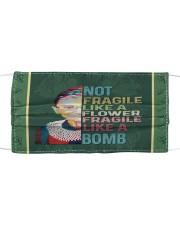 RBG not fragile sticker Cloth face mask thumbnail