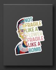 RBG not fragile sticker Sticker - Single (Vertical) aos-sticker-single-vertical-lifestyle-front-08