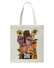 Black Lives Matter Hand Tote Bag thumbnail