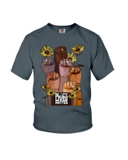 Black Lives Matter Hand Youth T-Shirt thumbnail