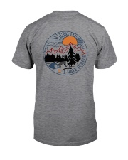 Camping Eff You See Kay Bear Beer Classic T-Shirt back