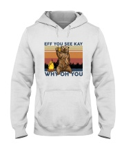 Camping Eff You See Kay Bear Beer Hooded Sweatshirt thumbnail