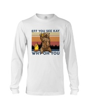 Camping Eff You See Kay Bear Beer Long Sleeve Tee thumbnail