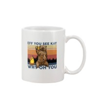 Camping Eff You See Kay Bear Beer Mug thumbnail
