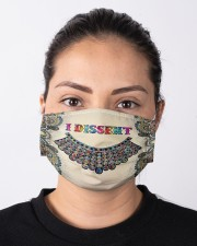 RBG I dissent collar mandala Cloth face mask aos-face-mask-lifestyle-01