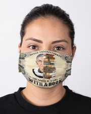 RBG with book mandala Cloth face mask aos-face-mask-lifestyle-01