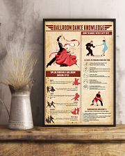 Ballroom dance knowledge 11x17 Poster lifestyle-poster-3