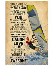 Wind Surfing Today Is A Good Day 11x17 Poster front