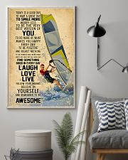 Wind Surfing Today Is A Good Day 11x17 Poster lifestyle-poster-1