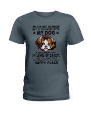 I may seem sweet and innocent but If you  Ladies T-Shirt thumbnail